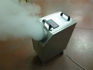 disinfestazione aerosol ambientale